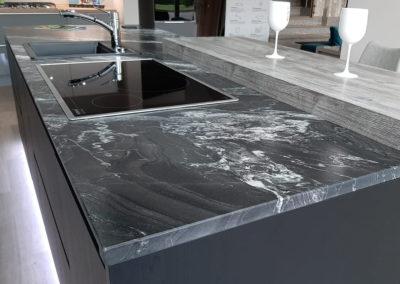 piani cucina in marmo